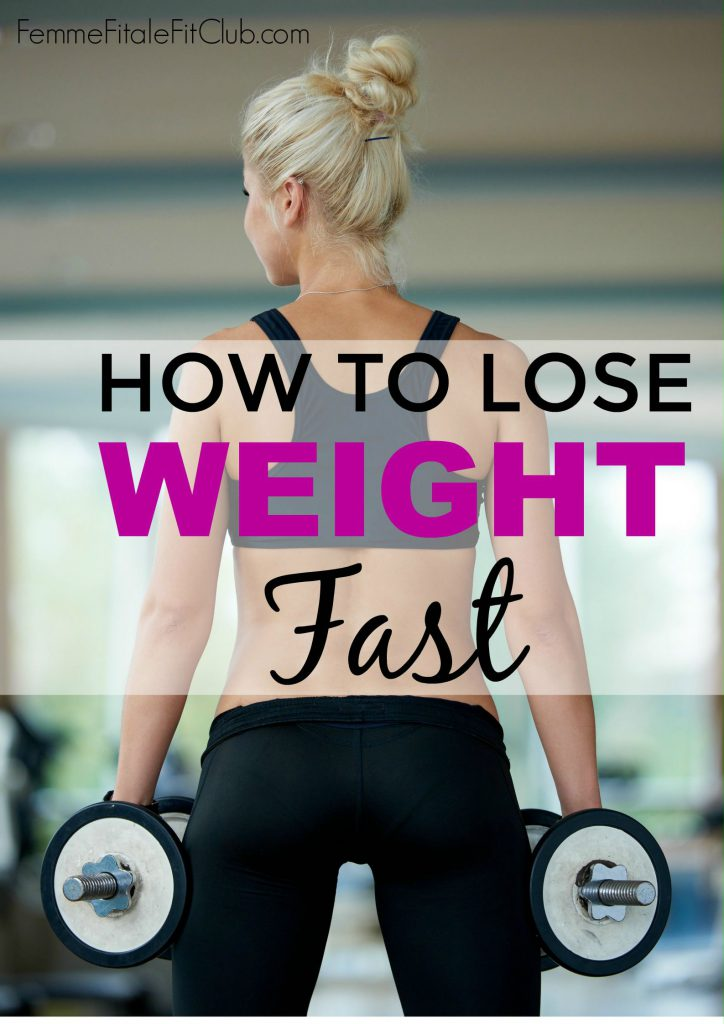 tips for rapid weight-loss
